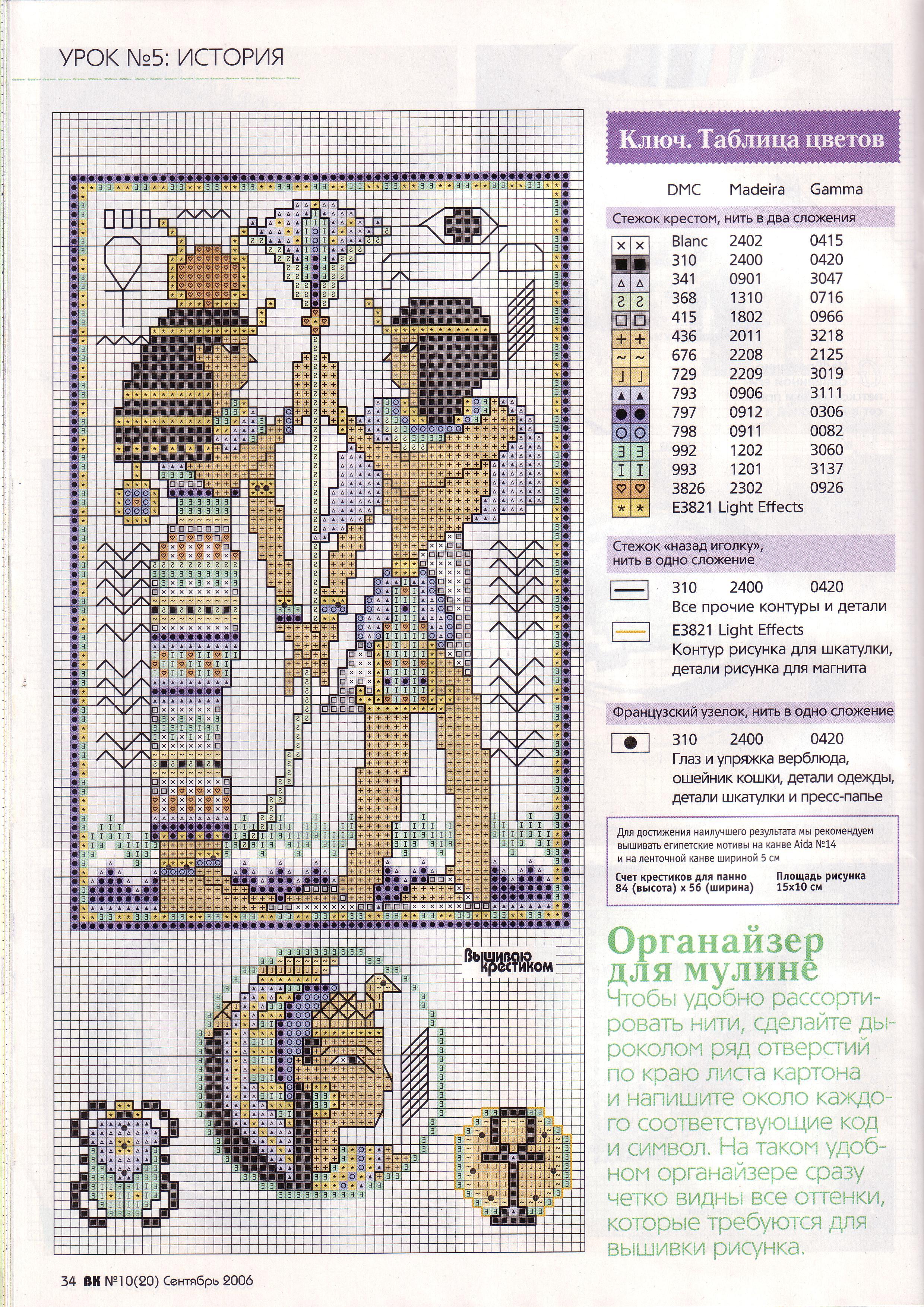 Египет. схемы для вышивок